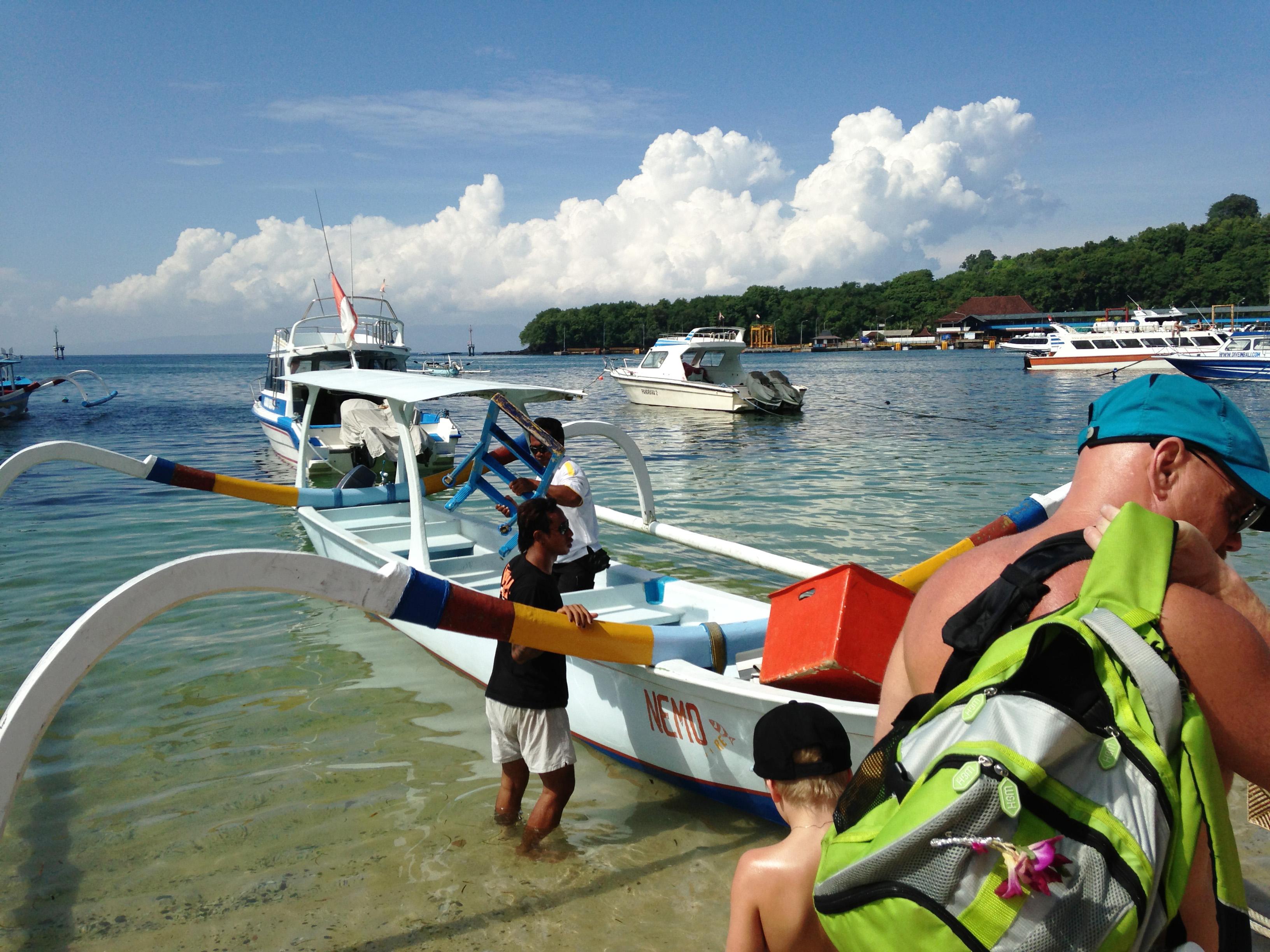 Snorkling i Padangbai, Bali. © 2016 Resor och äventyr. All rights reserved.