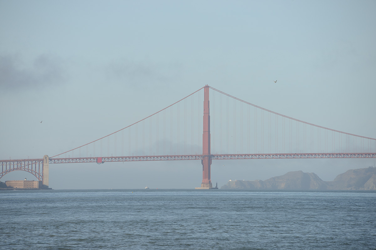 Golden Gate Bridge, San Fransisco USA © 2017 Resor och äventyr