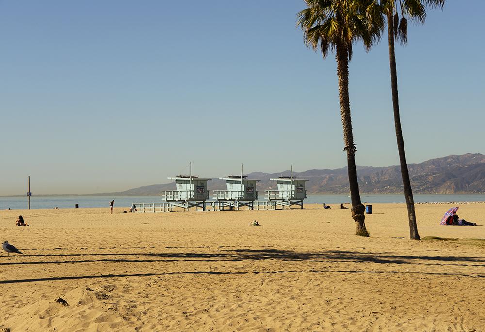Santa Monica Los Angeles USA © 2017 Resor och äventyr