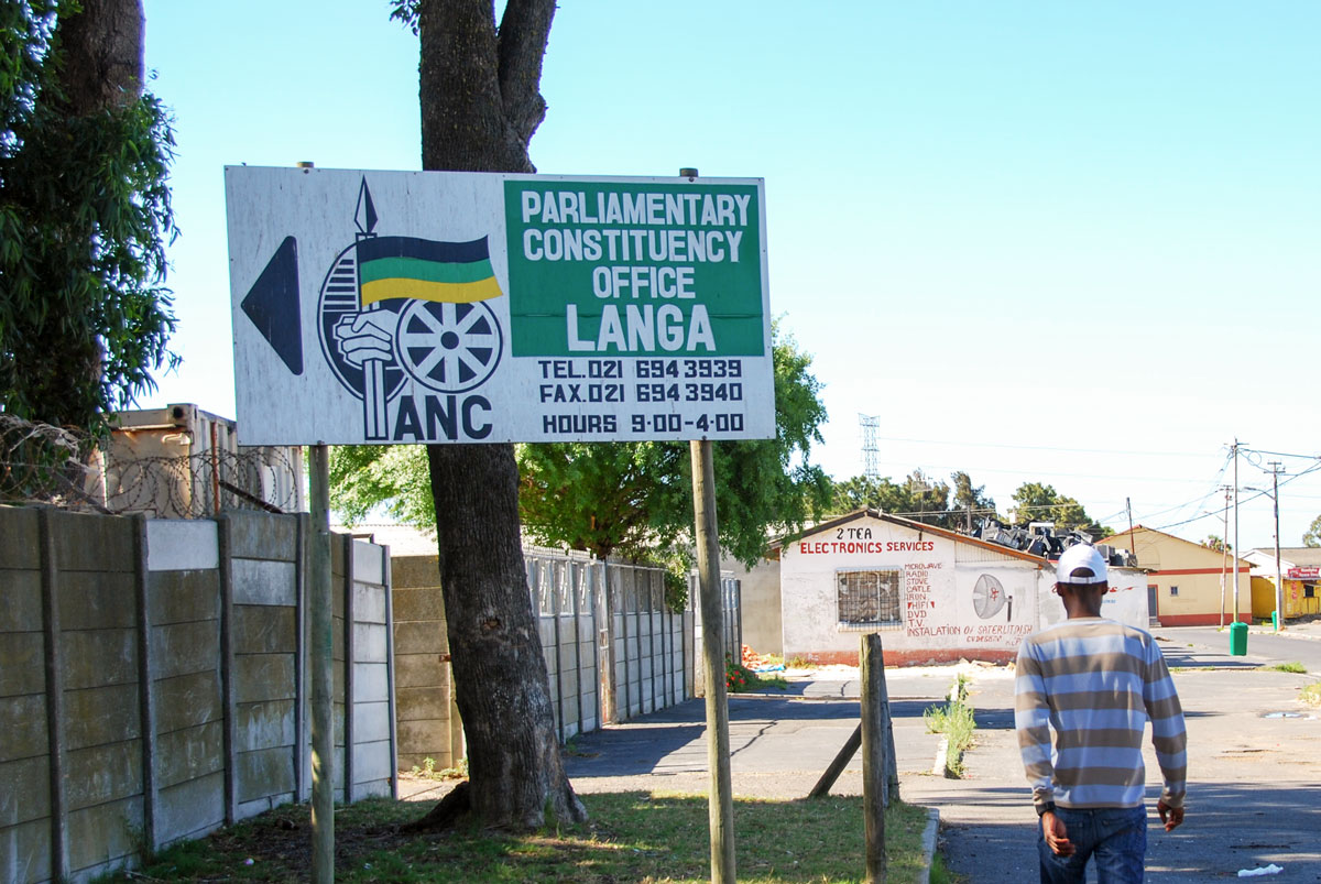 Sydafrika Kapstaden Langa