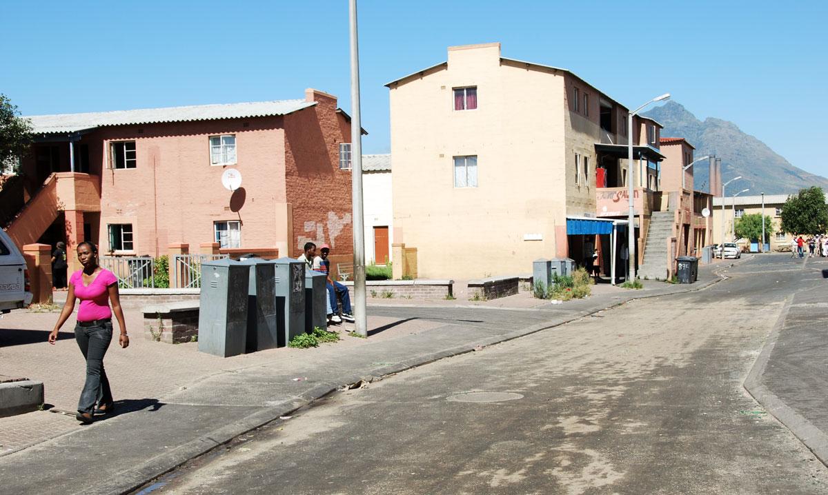 Sydafrika Kapstaden Langa Township