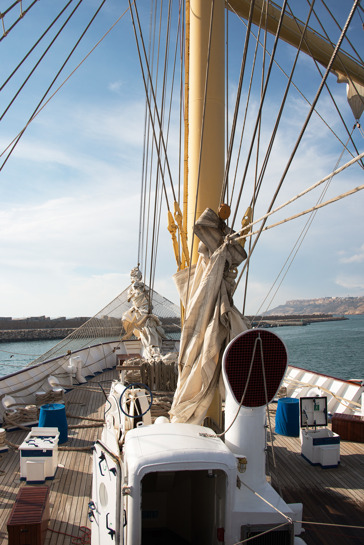 Kryssning över Atlanten med segelbåt Royal Clipper © 2017 Resor och äventyr