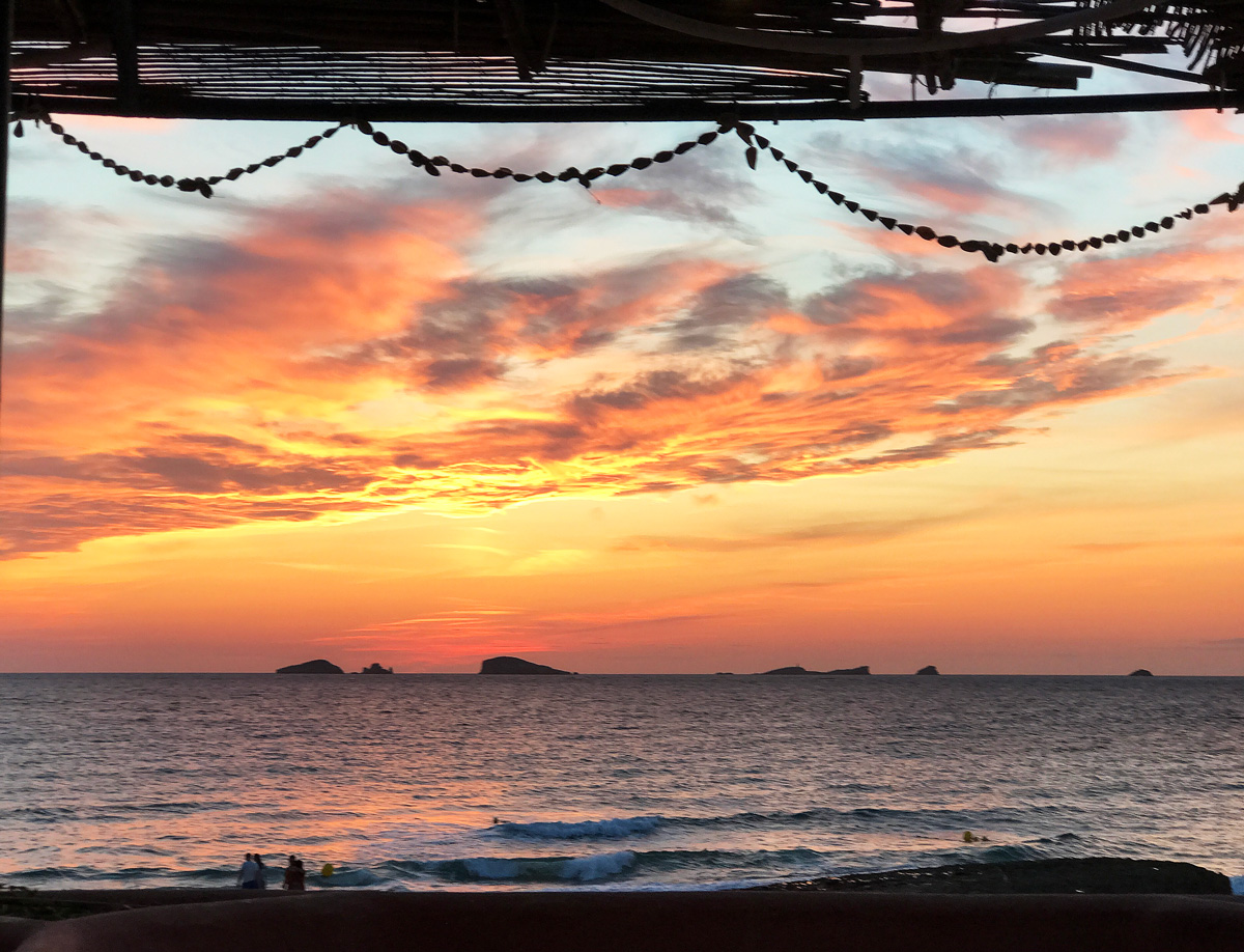 Ibiza longweekend Sunset Ashram
