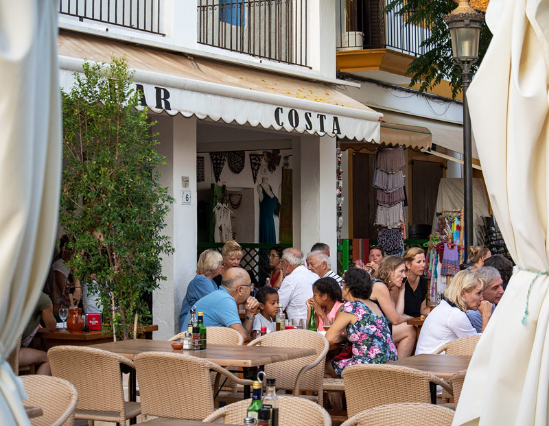 Ibiza Santa Gertrudis Bar Costa
