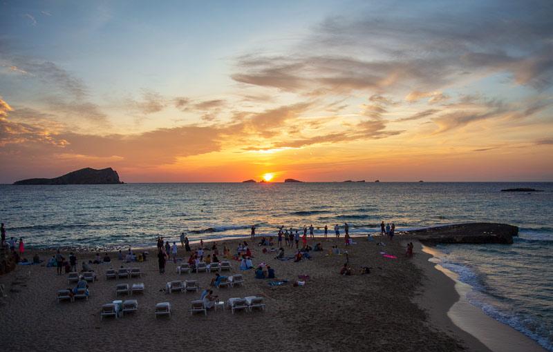 Ibiza Cala Conta Sunset Ashram